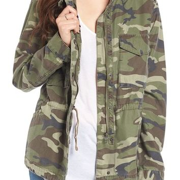 Thread & Supply Outsider Camo Print Jacket | Nordstrom