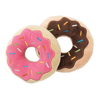 Donuts Dog Toy 2pk