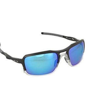 Oakley Men's Triggerman Polarized Rectangular Sunglasses