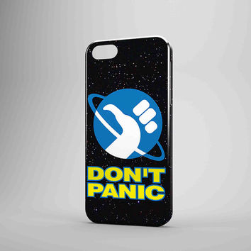 Hitchhiker's Guide To The Galaxy 3D iPhone Case Galaxy Case