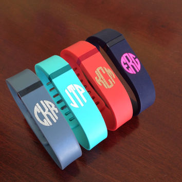 FitBit Flex Monogram Decals