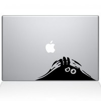 Hiding Monster Macbook Decal | Macbook Vinyl Decals | The Decal Guru