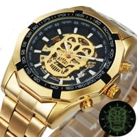 Skeleton Mechanical Watch Men