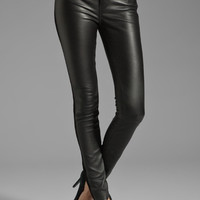 Marc by Marc Jacobs Resort Mirah Leather Pant in Black from REVOLVEclothing.com