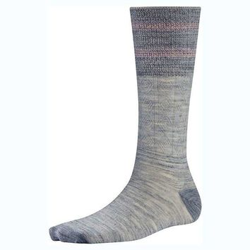 CREYYN3 Smartwool Metallic Striped Cable Sock - Women's
