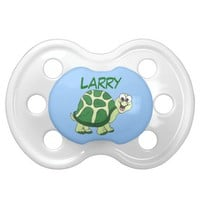 Funny Turtles - Personalized Pacifier BooginHead Pacifier