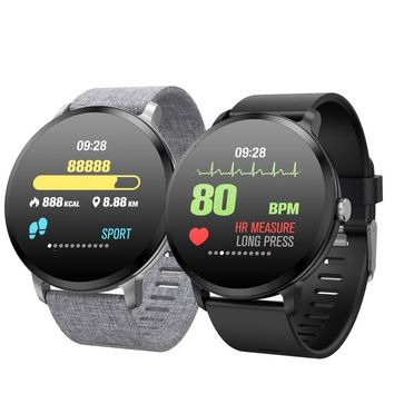 Fitness Smartwatch with Tempered Glass Waterproof
