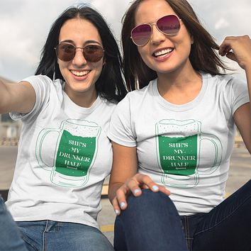 St. Patrick's Drunker Half Duo Shirts
