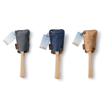Utensil Travel Sets with Eco-Conscious Pouch