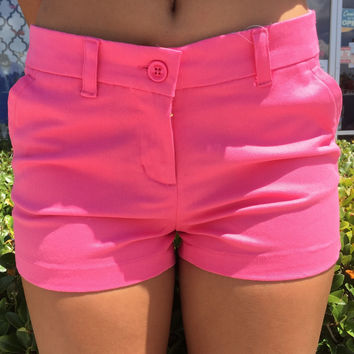 Simply Southern Preppy Shorts - Pink