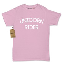 Unicorn Rider Womens T-shirt