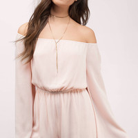 Gem Off Shoulder Romper