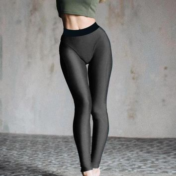 Gothic Sexy Hip Push Up Leggings for Fitness Low Waist Leggings