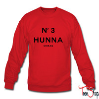 No. 3 hunna sweatshirt