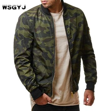 Casual Men'S Jacket High Quality Army Military Jacket Camouflage Jacket Men Coats Male Outerwear Overcoat 4XL