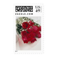 Bouquet of Roses Postage