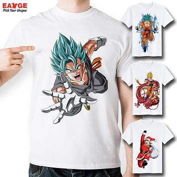 [MASCUBE]Dragon Ball Super Z GT Fashion T-shirt Goku Super Saiyan God tshirt Casual Japanese Popular Anime Men Women Printed Tee