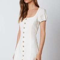 ANGELICA  BUTTON UP DRESS