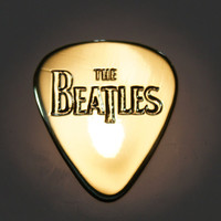 Beatles - Brass Guitar Pick