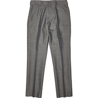 River Island Boys grey suit pants