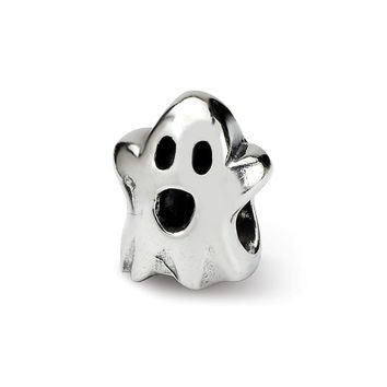 Sterling Silver Reflections Kids Ghost Bead
