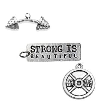 3 Fitness Charms