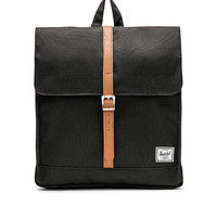 Herschel Supply Co. City Backpack in Black & Tan