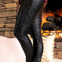 Blackout Sequin Leggings