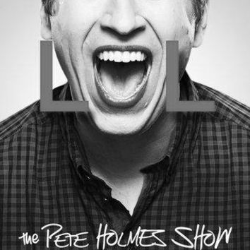 Pete Holmes Show poster Metal Sign Wall Art 8in x 12in Black and White