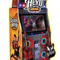 Arcade Games - Guitar Hero Arcade Game - The Pinball Company