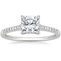 18K White Gold Lissome Diamond Ring