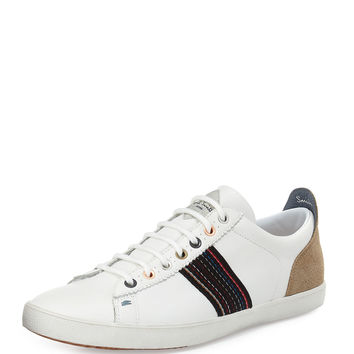 Osmo Leather Sneaker, White - Paul Smith