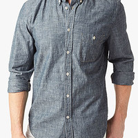 Chambray Oxford Shirt In Rinsed | 7 For All Mankind