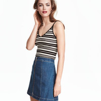 H&M A-line Denim Skirt $24.99