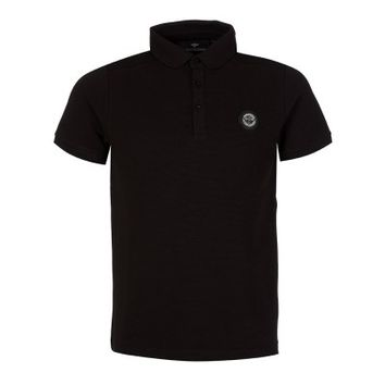 Creative Recreation Black Fenton Polo Shirt