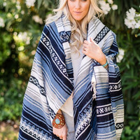 Oversized Falsa Mexican Blanket