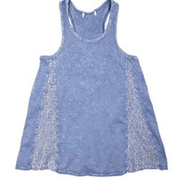 Lace Inset Wash Swing Tank