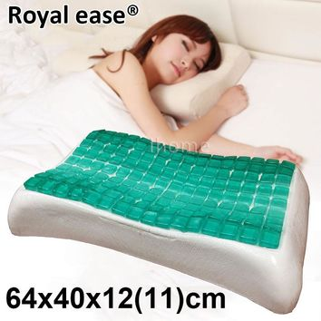 3KGS HIgh Quality GEL Contour Pillow Breathable Fast Rebound Memory Foam Cool Ice Pad Massager Insomnia Sleeping Health Care