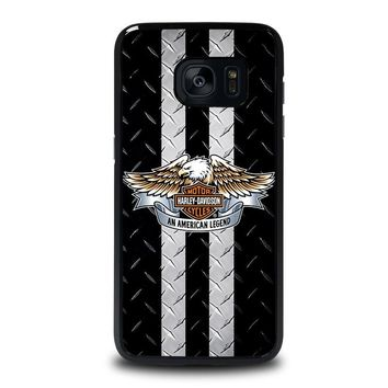 HARLEY DAVIDSON MOTORCYCLE Samsung Galaxy S7 Edge Case Cover