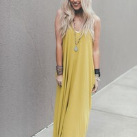 Perfection Pocket Maxi Dress - Wasabi