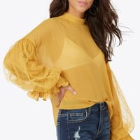 Gentle Frills Top