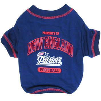 New England Patriots Pet Shirt MD