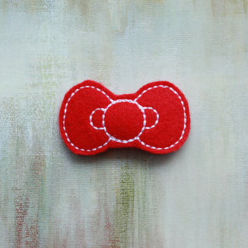 Baby Toddler Hair Clips Hello Kitty Bow