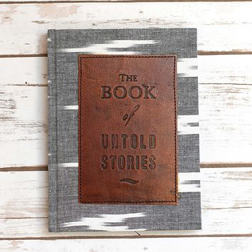 Untold Stories Khadi Patch Journal