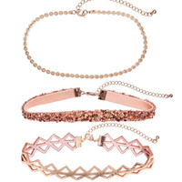 3-pack Chokers - from H&M
