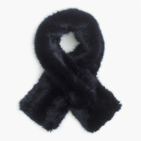 Collection luxe faux-fur scarf