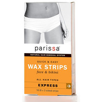 Epilatory Wax Strips for Face & Bikini