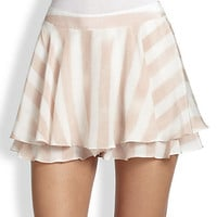 Striped Flirty Skort