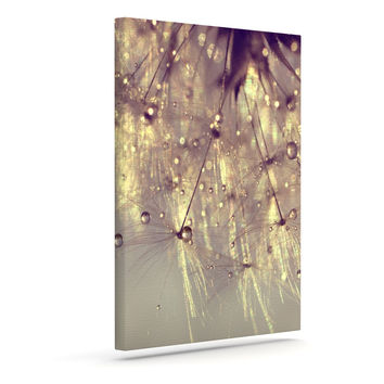 """Ingrid Beddoes """"Sparkles of Gold"""" Outdoor Canvas Wall Art"""