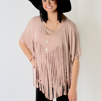 Dale Fringed Top